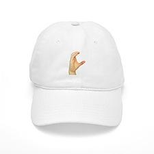 ASL Letter C Baseball Cap