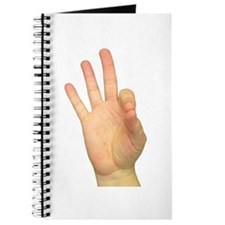 ASL Letter F Journal