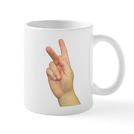 ASL Letter K Mug