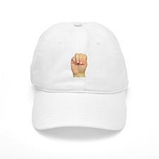 ASL Letter M Baseball Cap