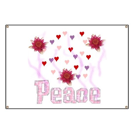 Peace Lotus Banner