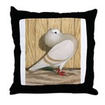 Khaki Mookee Pigeon Throw Pillow