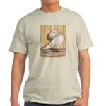 Khaki Mookee Pigeon Light T-Shirt