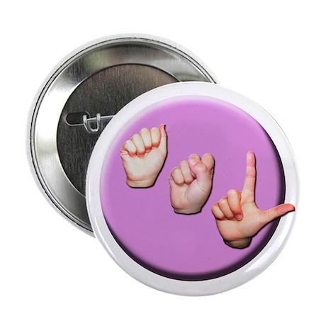 """ASL Logo 2.25"""" Button"""