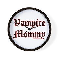 Vampire Mommy Wall Clock