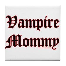 Vampire Mommy Tile Coaster