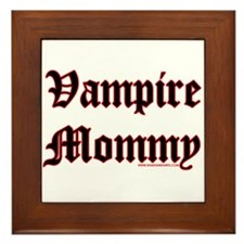 Vampire Mommy Framed Tile