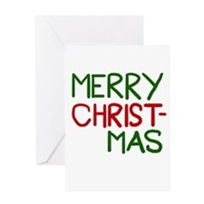 Merry Christmas Cool Greeting Card