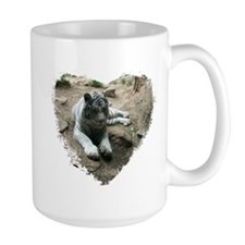 tiger in heart Mug