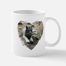 tiger in heart Mug
