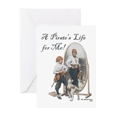A Pirate's Life for Me Greeting Card
