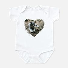 tiger in heart Infant Bodysuit