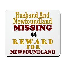 Husband & Newfoundland Missing Mousepad