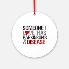 Parkinson'sDiseaseLove Ornament (Round)