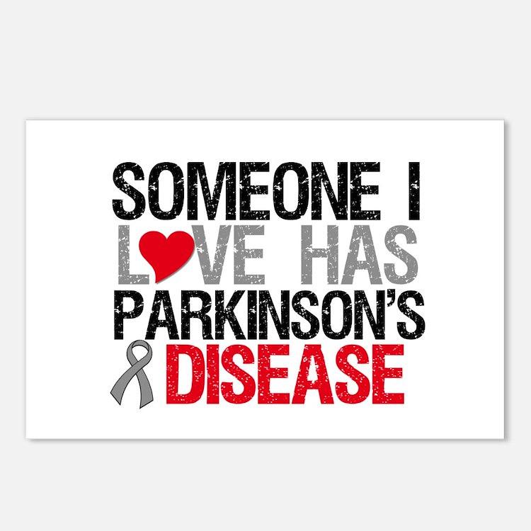 Parkinson'sDiseaseLove Postcards (Package of 8)