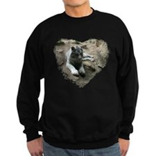 tiger in heart Sweatshirt