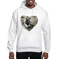 tiger in heart Hoodie