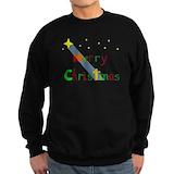 Christian christmas Sweatshirt (dark)