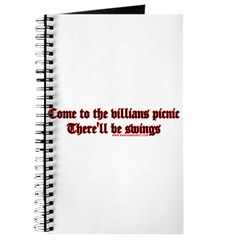 Come To The Villians Picnic T Journal