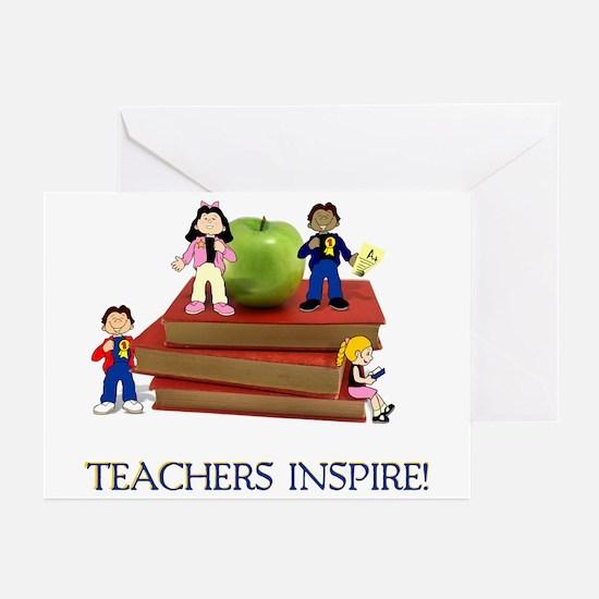 Teachers Inspire Greeting Cards (Pk of 20)