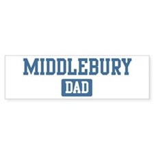 Middlebury dad Bumper Bumper Sticker