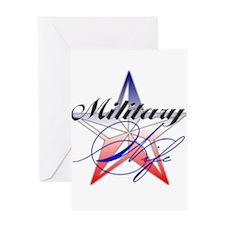 Cute Military spouse Greeting Card