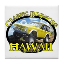 Funny Ford bronco classic Tile Coaster