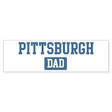Pittsburgh dad Bumper Bumper Sticker