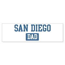 San Diego dad Bumper Sticker