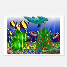 Dolphin Tree Postcards (Package of 8)