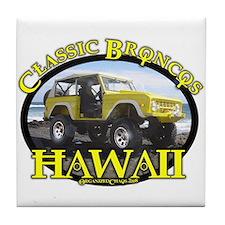 Unique Ford bronco classic Tile Coaster