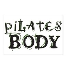 pilates body Postcards (Package of 8)