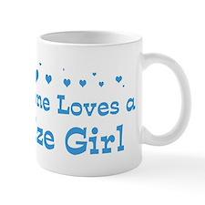 Loves Belize Girl Mug