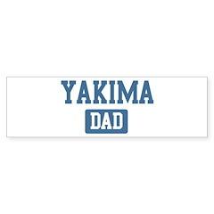 Yakima dad Bumper Bumper Sticker