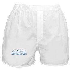 Loves Barbados Girl Boxer Shorts