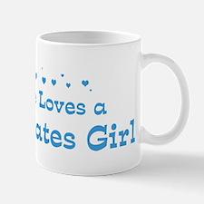 Loves Baltic States Girl Mug