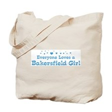 Loves Bakersfield Girl Tote Bag
