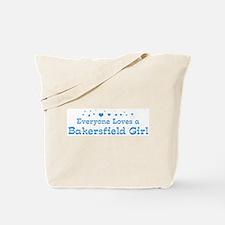 Loves Bakersfield Girl Tote Bag
