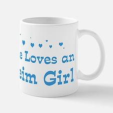 Loves Anaheim Girl Mug