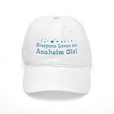 Loves Anaheim Girl Baseball Cap
