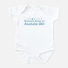 Loves Anaheim Girl Infant Bodysuit