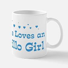 Loves Amarillo Girl Mug