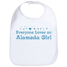 Loves Alameda Girl Bib