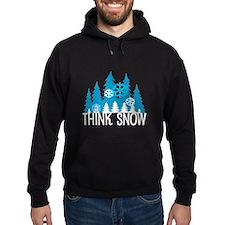 Think Snow Hoodie