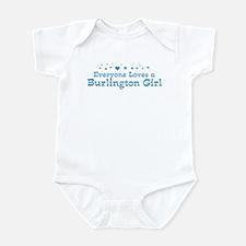 Loves Burlington Girl Infant Bodysuit