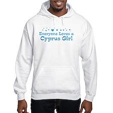 Loves Cyprus Girl Hoodie
