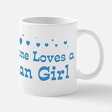 Loves Bryan Girl Mug