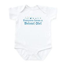 Loves Bristol Girl Infant Bodysuit