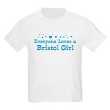 Loves Bristol Girl T-Shirt