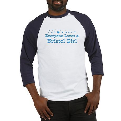 Loves Bristol Girl Baseball Jersey